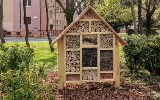 Deň Zeme aj v Ružinove: Hmyzí dom v Kukorelliho parku