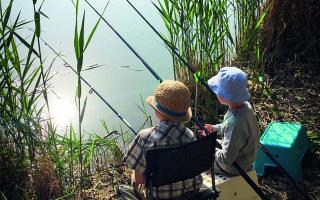 Detské rybárske preteky na Štrkovci a Rohlíku