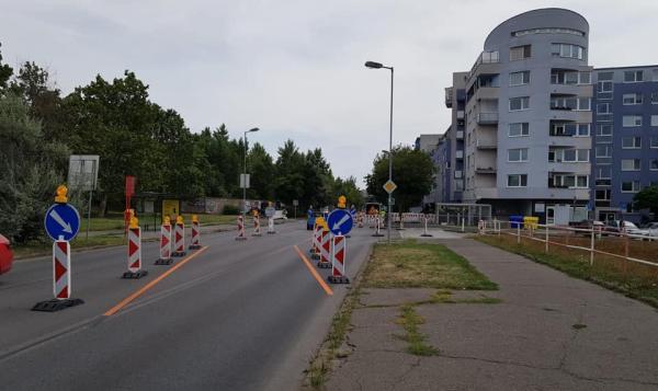 budovanie bezbariérového priechodu na Tomášikovej/Ľanovej