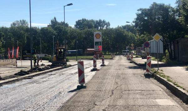 Oprava Drieňovej ulice 2020 (zdroj fb Martin Chren - starosta Ružinova)