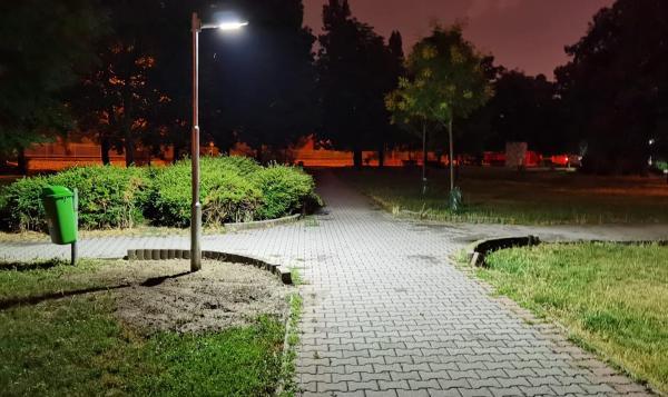 Solárne lampy v Ružinove 2021